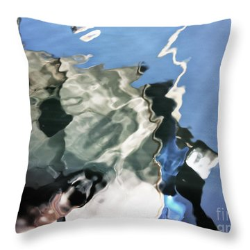 Dehaviland Float Plane Throw Pillow