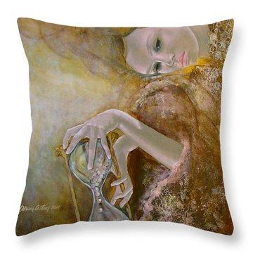 Deja Vu Throw Pillow by Dorina  Costras
