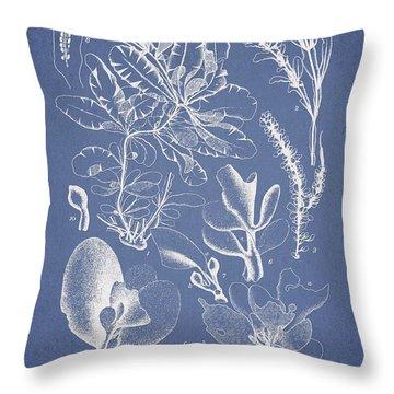 Delesseria Middendorfii Throw Pillow by Aged Pixel