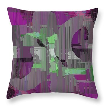 Deliberations Throw Pillow by Tim Allen