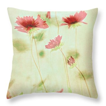 Delicate Dance Throw Pillow