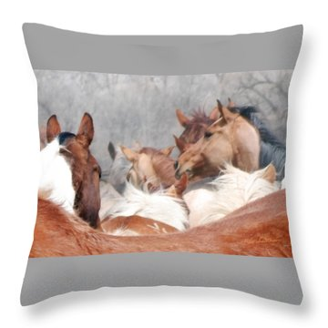 Delicate Illusion Throw Pillow