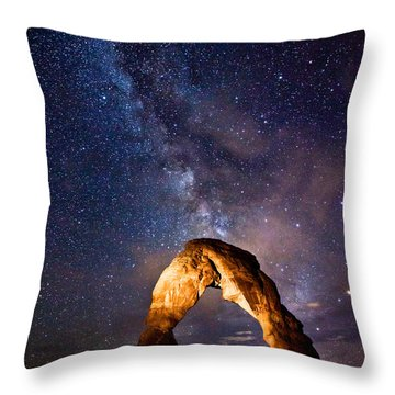 Delicate Light Throw Pillow