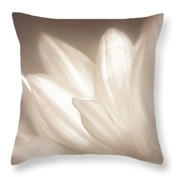 Delicate Throw Pillow by Scott Norris