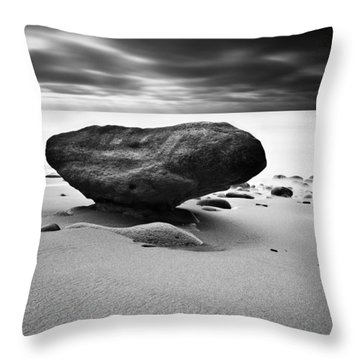Delicated Balance Throw Pillow