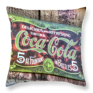 Delicious And Refreshing Throw Pillow