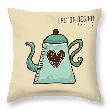 Caffeine Throw Pillows