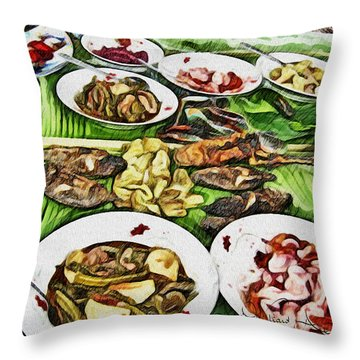 Deliciously Fresh Throw Pillow