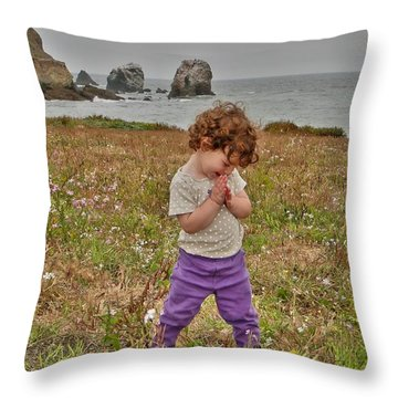 Delight Throw Pillow by Nick David