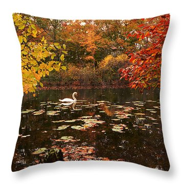 Delightful Autumn Throw Pillow