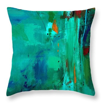 Deliver Me Throw Pillow by Ruth Palmer