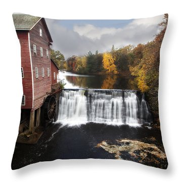Dells Mill Fall Color Throw Pillow