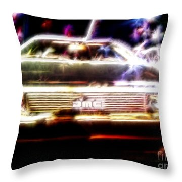 Delorean Fantasy Throw Pillow