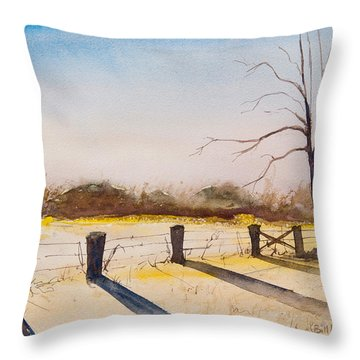 Delta 3 Throw Pillow
