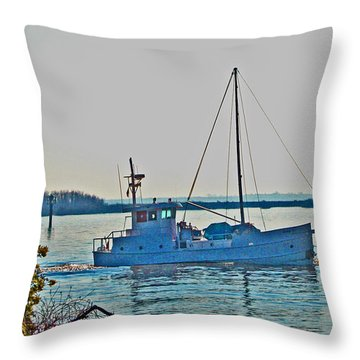 Delta Loop View 1 Throw Pillow