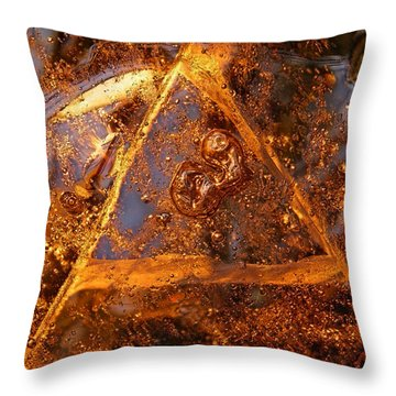 Delta Throw Pillow by Sami Tiainen