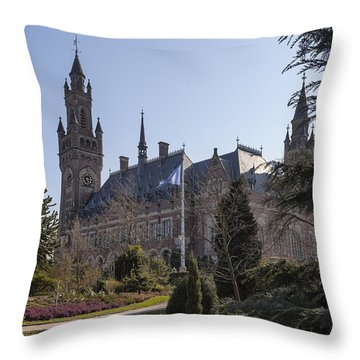 Den Haag Throw Pillow by Joana Kruse