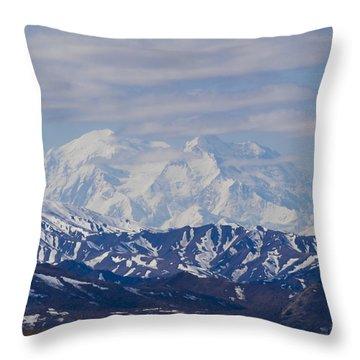 Denali  Throw Pillow by Tara Lynn