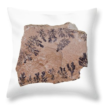 Dendrite Throw Pillows
