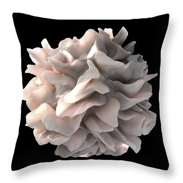 Cell Biology Throw Pillows
