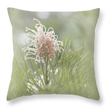 Throw Pillow featuring the photograph Denise by Elaine Teague