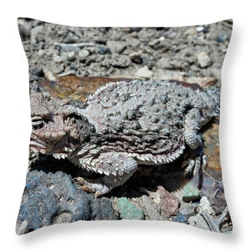 Denizen Of The Desert Throw Pillow