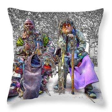 Denizens Throw Pillow