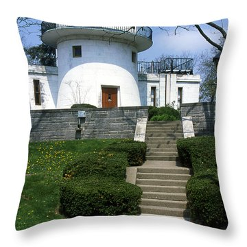 1u22 Swasey Observatory At Denison University Photo Throw Pillow