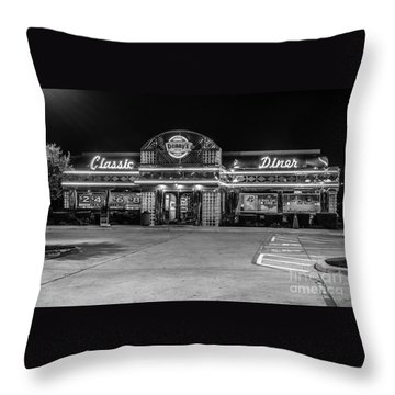 Denny's Classic Diner Throw Pillow