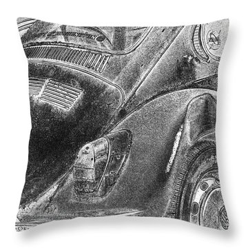 Throw Pillow featuring the photograph Dented Ego by Jean OKeeffe Macro Abundance Art