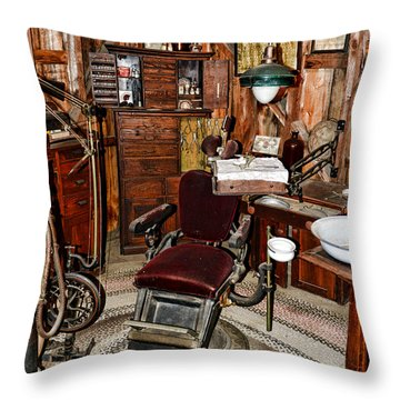 Dentist - The Dentist Chair Throw Pillow