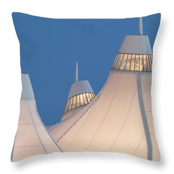 Denver International Airport Throw Pillow