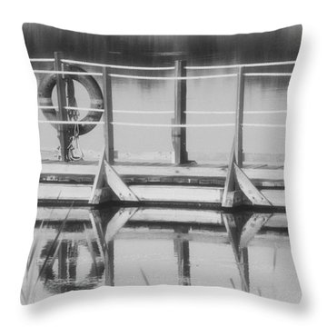 Denver National Wildlife Refuge Throw Pillow