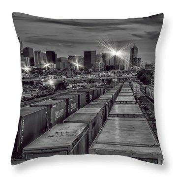 Denver's Underbelly Throw Pillow