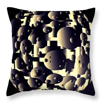 Depth Of Thought Throw Pillow by Susan Maxwell Schmidt