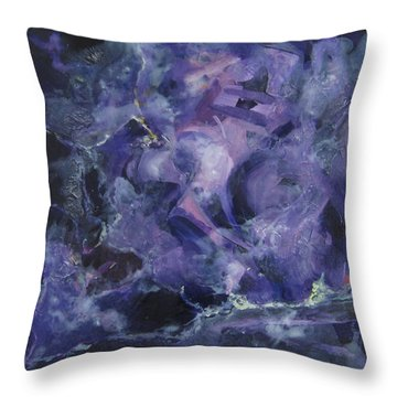 Depths Of Passion Throw Pillow