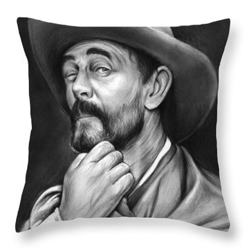 Deputy Festus Haggen Throw Pillow