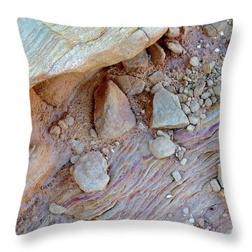 Desert Abstracts 15 Throw Pillow