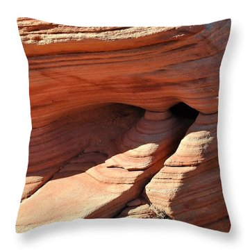 Desert Abstracts 6 Throw Pillow
