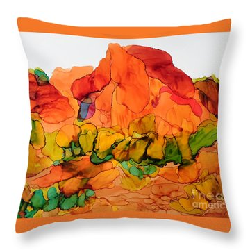 Desert Beauty 6 Throw Pillow by Vicki  Housel
