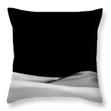 Desert Calm II Throw Pillow