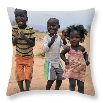 Desert Dance Throw Pillow