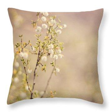 Desert Delicates Throw Pillow
