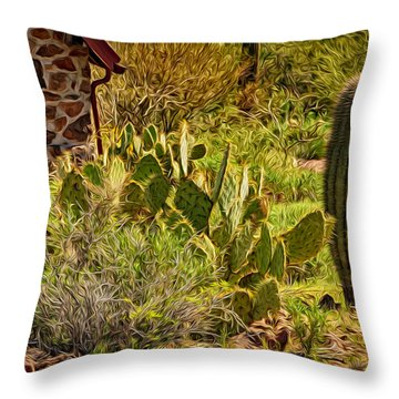 Desert Dream Throw Pillow