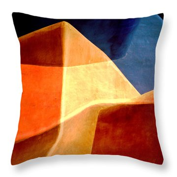 Desert Dunes Number 1 Throw Pillow