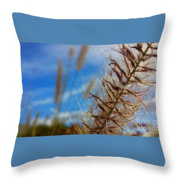 Throw Pillow featuring the photograph Desert Foliage by Chris Tarpening