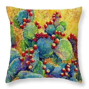 Desert Gems Throw Pillow