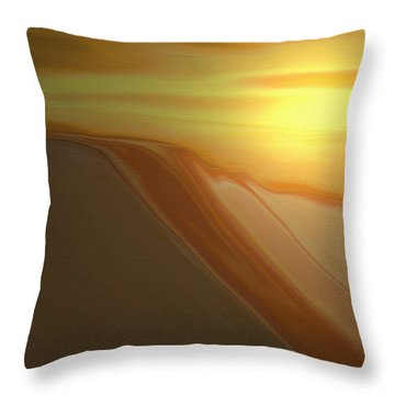 Desert Heat 3 Throw Pillow