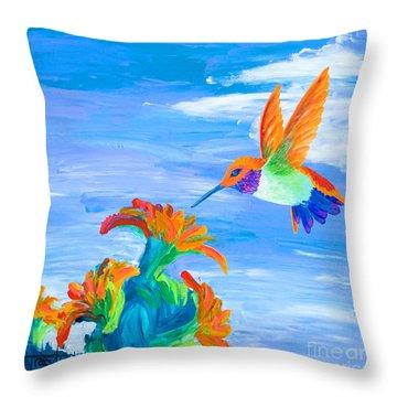 Desert Jewel Throw Pillow by Tracy L Teeter