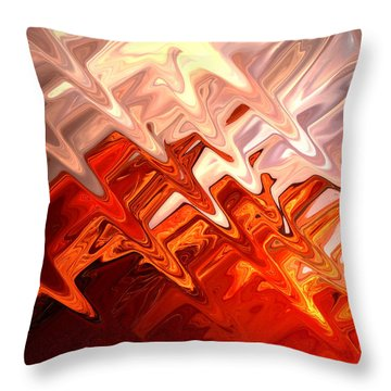 Desert Light Throw Pillow by Aidan Moran